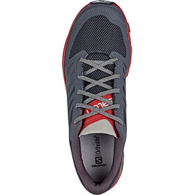 Salomon Outline Chaussures Homme, ebony/red dahlia/frost gray